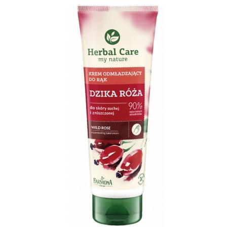 Herbal Care krem odżywczy do rąk z Dziką Różą 100ml