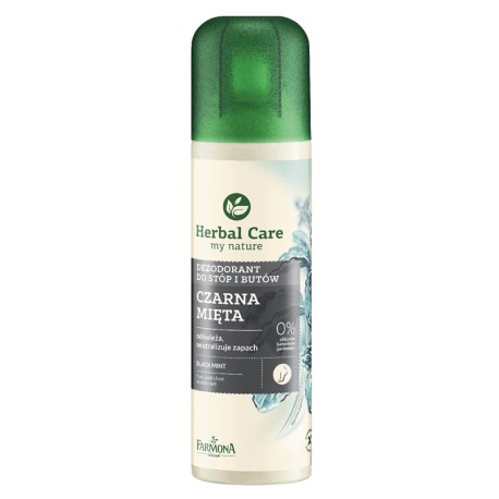 Herbal Care Dezodorant do stóp i butów czarna mięta 150ml