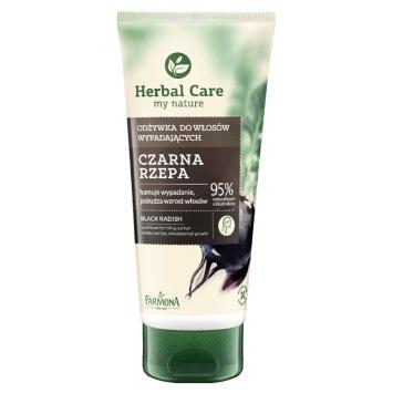HERBAL CARE Odżywka do włosów wpadających Czarna Rzepa 200ml