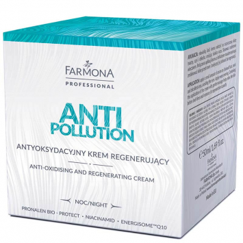 ANTI POLLUTION Antyoksydacyjny krem regenerujacy 50ml