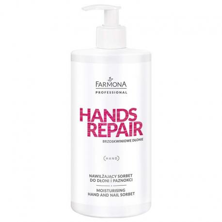 HANDS REPAIR Nawilżający sorbet do dłoni i paznokci 500ml
