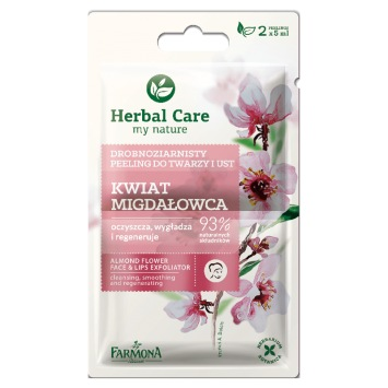 Herbal Care Peeling drobnoziarnisty KWIAT MIGDAŁOWCA 2x5ml
