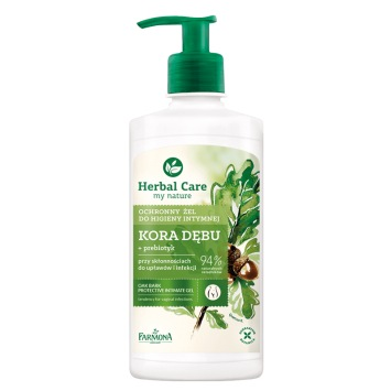 Herbal Care Ochronny żel do higieny intymnej Kora dębu 330ml