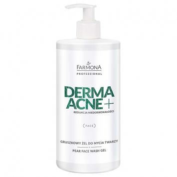 DERMAACNE+ Gruszkowy żel do mycia twarzy 500ml