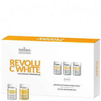REVOLU C WHITE Zestaw aktywnie wybielający