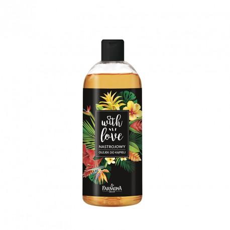 Nastrojowy olejek do kąpieli - kwiaty 500 ml