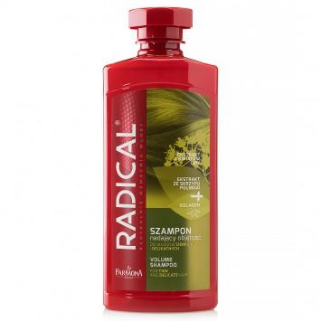 RADICAL Szampon nadający objętość do włosów cienkich i delikatnych 400ml