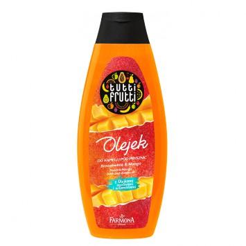 TUTTI FRUTTI Brzoskwinia & Mango olejek do kąpieli i pod prysznic 425ml