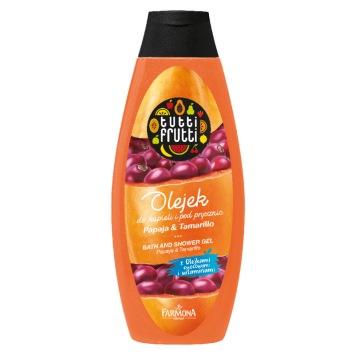 TUTTI FRUTTI Papaja & Tamarillo olejek do kąpieli i pod prysznic 425ml