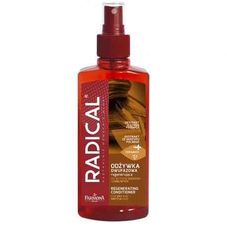 RADICAL Odżywka dwufazowa regenerująca do włosów suchych i łamliwych 200ml
