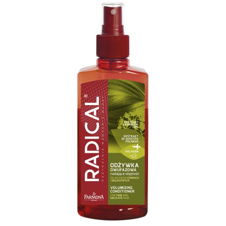RADICAL Odżywka dwufazowa nadająca objętość do włosów cienkich i delikatnych 200ml