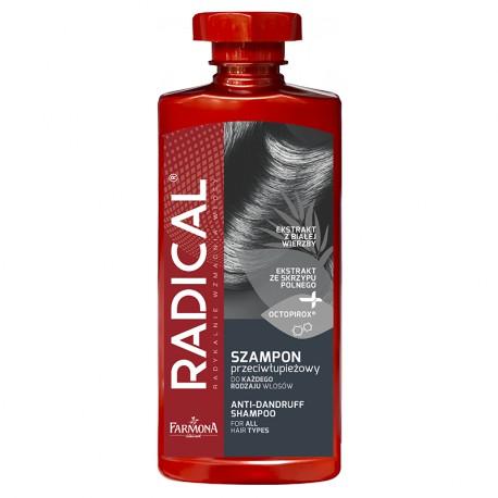 RADICAL Szampon przeciwłupieżowy do każdego rodzaju włosów 400ml
