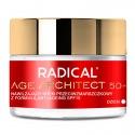RADICAL® AGE ARCHITECT 50+  Nawilżający krem przeciwzmarszczkowy SPF15, 50ml