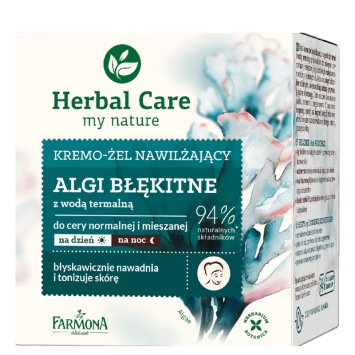 HERBAL CARE Kremo-żel do twarzy  ALGI BŁĘKITNE 50 ml