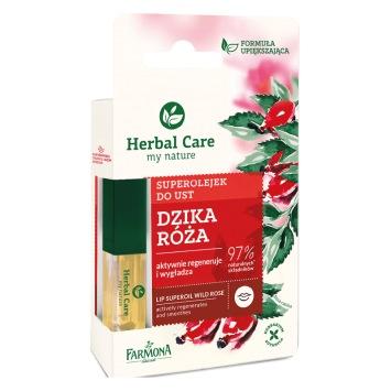 Herbal Care Superolejek do ust DZIKA RÓŻA 5ml