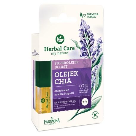 Herbal Care Superolejek do ust CHIA 5ml