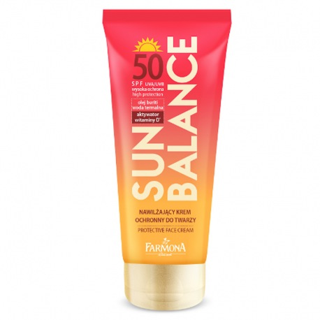 SUN BALANCE Krem ochronny do twarzy SPF50 50ml