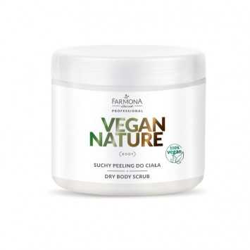 VEGAN NATURE Suchy peeling do ciała 600g