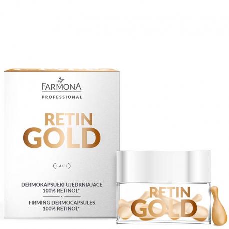 RETIN GOLD Dermokapsułki ujędrniające 100% retinol