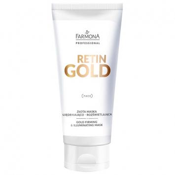RETIN GOLD Złota maska ujędrniająco - rozświetlająca 200ml