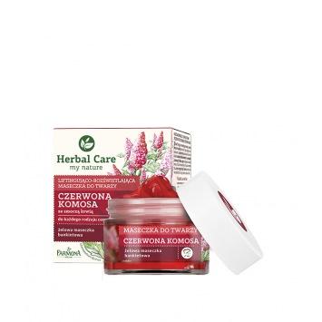 Herbal Care Maseczka CZERWONA KOMOSA, 50 ml
