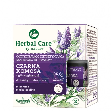 Herbal Care Maseczka CZARNA KOMOSA, 50ml
