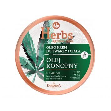Herbs Oleo krem OLEJ KONOPNY, 100ml
