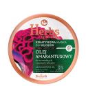 HERBS Keratynowa maska Olej Amarantusowy do normalnych i suchych włosów 250ml