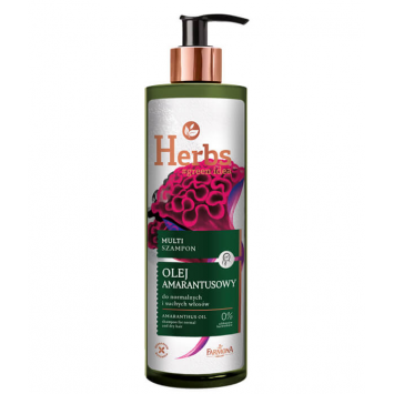Herbs Multi szampon OLEJ AMARANTUSOWY, 400ml
