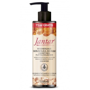 Jantar Serum do rąk z platyną, 175 ml