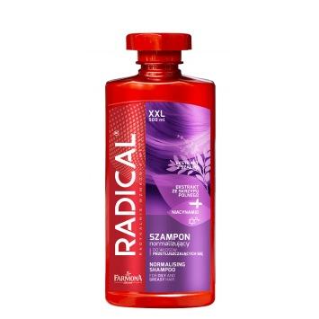 RADICAL Szampon normalizujący do włosów przetłuszczających się 500ml XXL