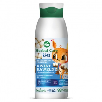 Herbal Care Kids Kremowa emulsja do mycia 400ml