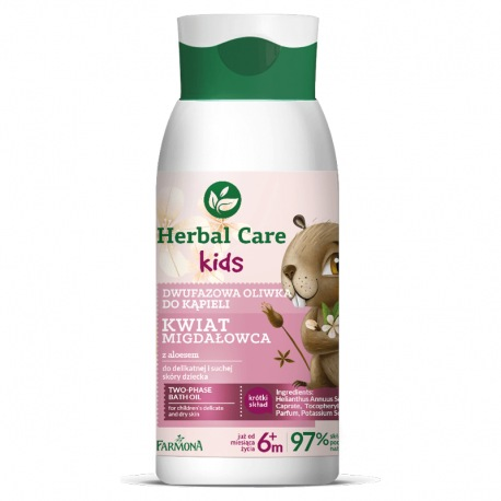 HERBAL CARE Kids Dwufazowa oliwka do kąpieli 300ml