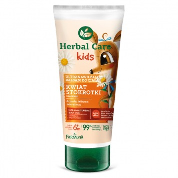 HERBAL CARE Kids Ultranawilżający balsam do ciała 200ml