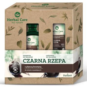 Zestaw Herbal Care pielęgnacja włosów Rzepa (szampon odżywka)