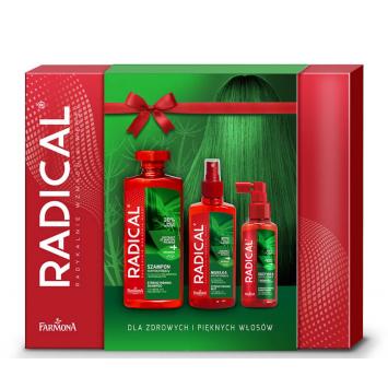 Zestaw Radical Wzmacniający (szampon, odżywka, mgiełka)