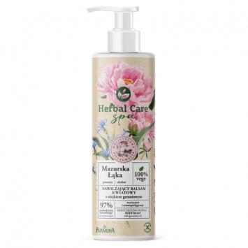 Herbal Care SPA Nawilżający balsam kwiatowy MAZURSKA ŁĄKA  z olejkiem geraniowym 400 ml