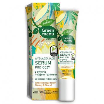 GREEN MENU Wygładzające serum pod oczy z cykorią i olejem ryżowym 15ml