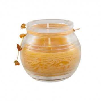 Aromaterapia Magic Spa Bursztynowa świeca aromatyczna o działaniu uspakajającym i odprężającym