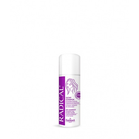 Suchy szampon do włosów tłustych, pozbawionych objętości