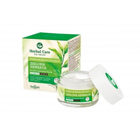 Herbal Care Krem normalizująco-matujący na dzień /na noc (zielona herbata) 50ml