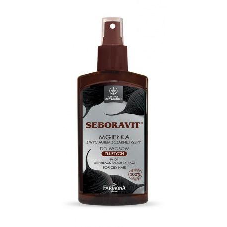 Seboravit mgiełka z wyciągiem z czarnej rzepy do włosów tłustych 200ml