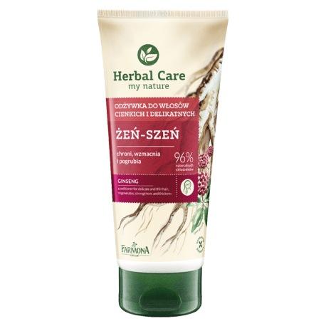 HERBAL CARE Odżywka do włosów cienkich i delikatnych Żeń-Szeń 200ml